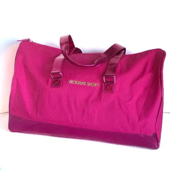 Victoria s Secret Bags   Victoria Secret Xl Duffle Bag Hot Pink ... d627fd71b5